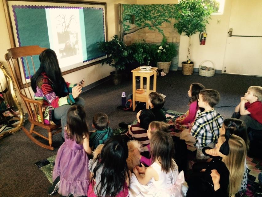 Children's Author Visit-A new vision