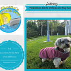 Holidays Hounds and Hot Buys Giveaway-Teckelklub Sierra Waterproof Dog Coat on Shasta