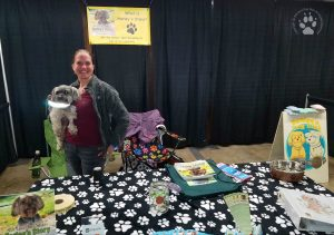 Snapshot Sundays March 2017: Denise & Shasta at the Home & Garden Show 2017
