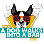 Logo A Dog Walks into a Bar-4 gifts for pets