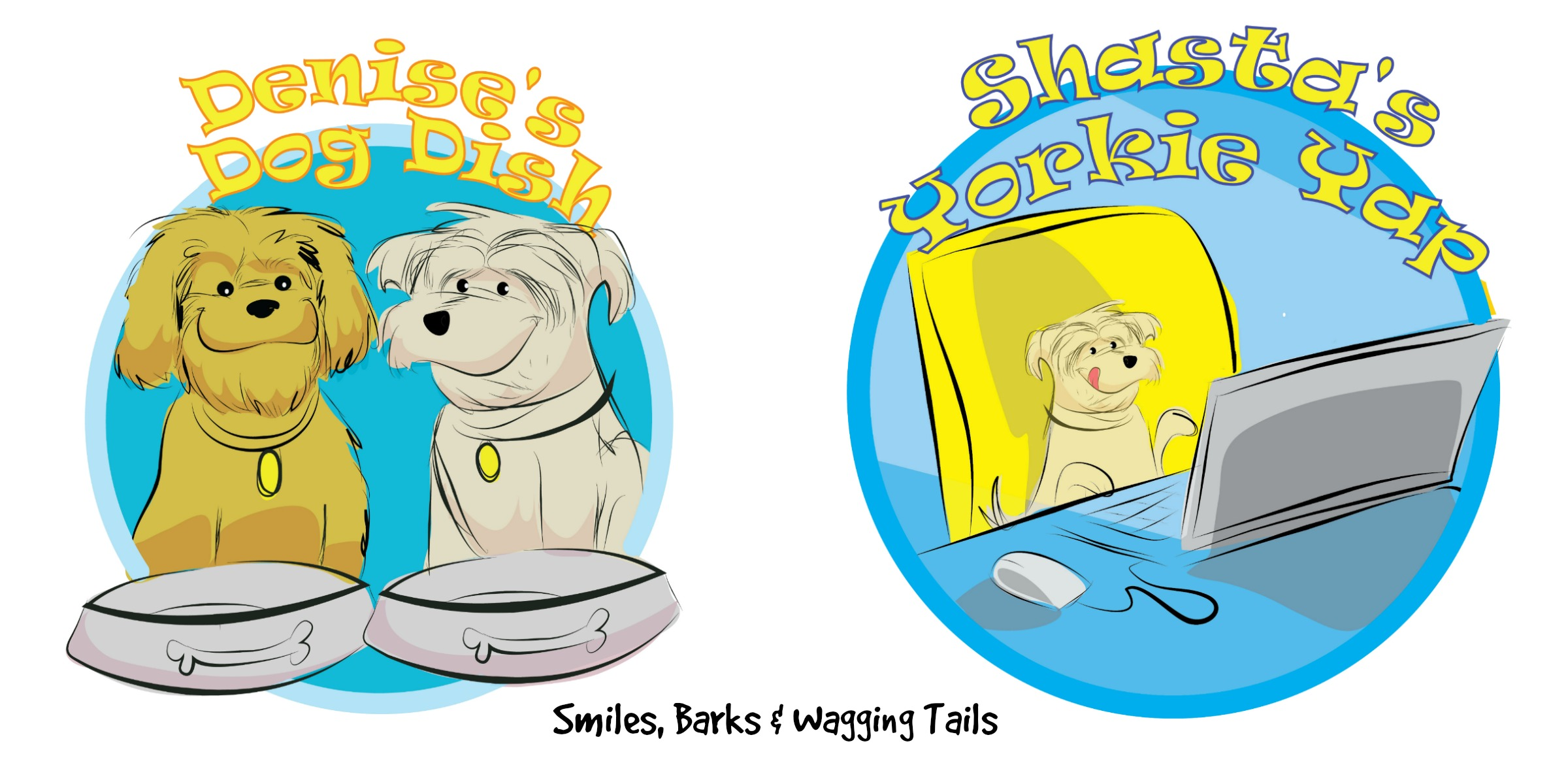 Denise's Dog Dish-Smiles, Barks and Wagging Tails